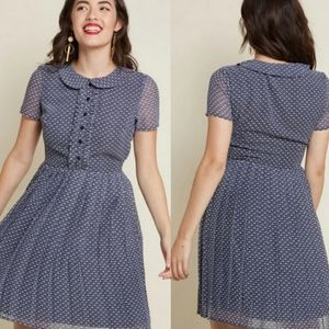 Modcloth Impeccable Everywhere Shirt Dress in Fans